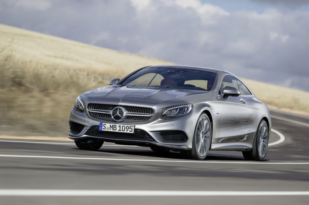 Behind the Wheel: The 2015 S550 Coupe