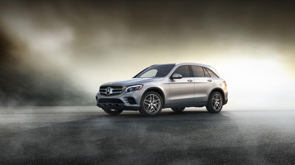 2016 Mercedes-Benz GLC-Class exterior design